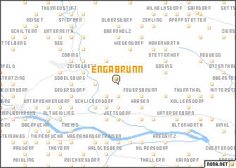 map of Engabrunn
