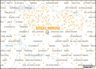 map of Engelhaming