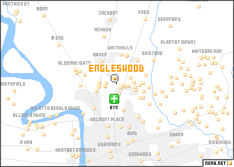 map of Engleswood