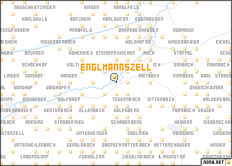 map of Englmannszell