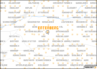 map of Entenberg