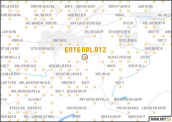 map of Entenplatz