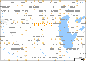 map of Entraching