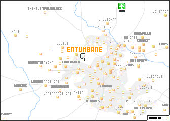map of Entumbane