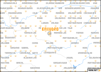 map of Enxudro