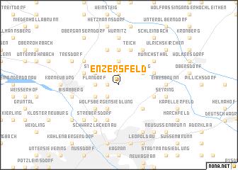 map of Enzersfeld