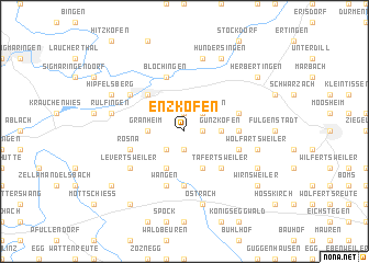 map of Enzkofen