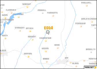 map of Eoda