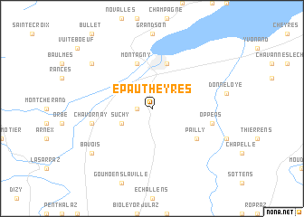 map of Epautheyres