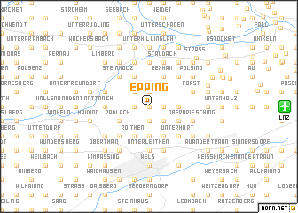 map of Epping