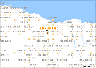Epworth Jamaica map nonanet