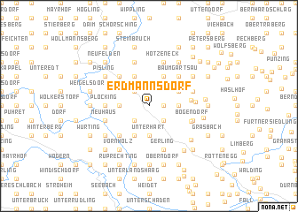 map of Erdmannsdorf