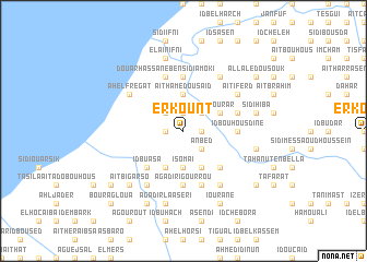 map of Erkount