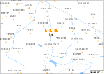 map of Erling