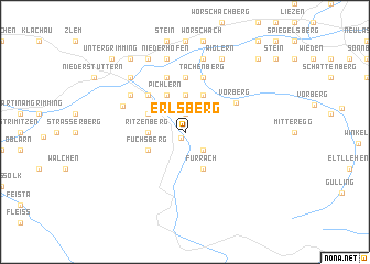 map of Erlsberg