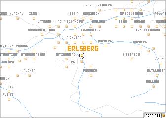 map of Erlsberg