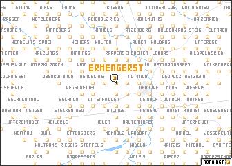 map of Ermengerst