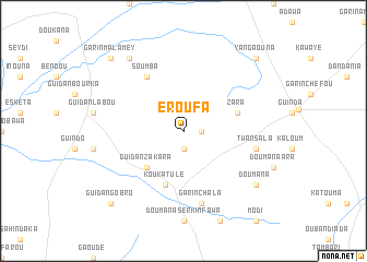map of Eroufa