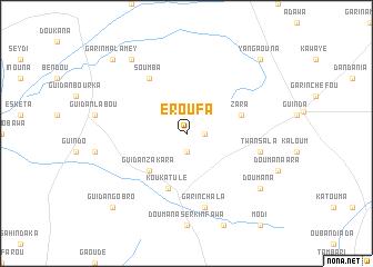 map of Eroufa