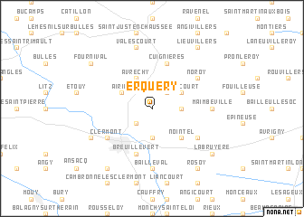 map of Erquery