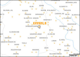 map of Er Ramla