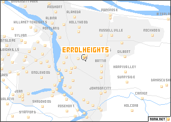 Map Of Errol Heights