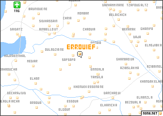 map of Er Rouief