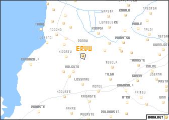 map of Ervu