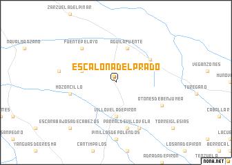 map of Escalona del Prado