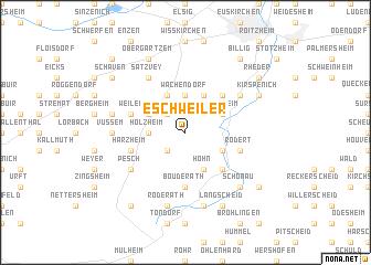 map of Eschweiler