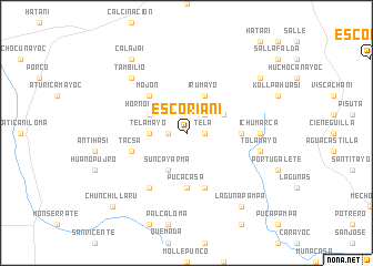 map of Escoriani