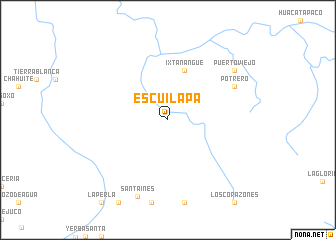 map of Escuilapa