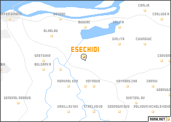 map of Esechioi