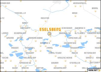 map of Eselsberg