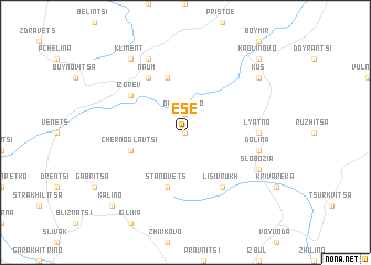map of Ese