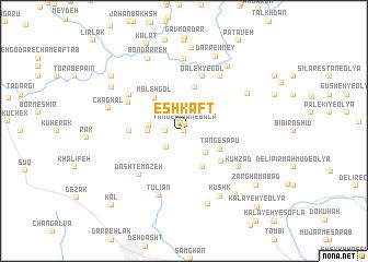 map of Eshkaft