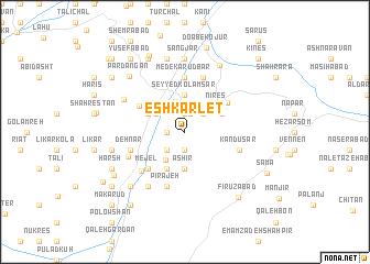 map of Eshkārlet