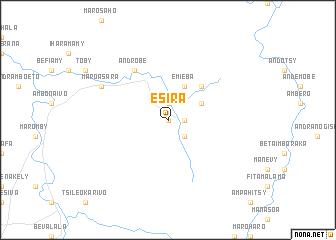 map of Esira