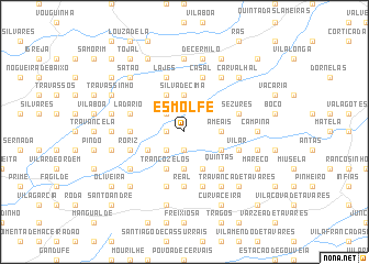 map of Esmolfe