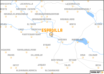 map of Espadilla