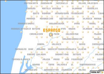 map of Espargo