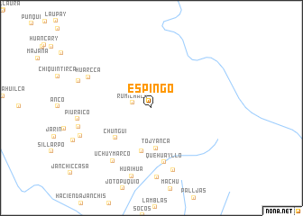 map of Espingo
