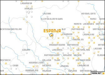 map of Esponja