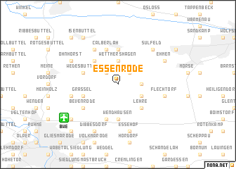map of Essenrode