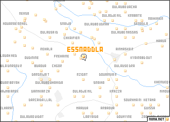 map of Es Snaddla