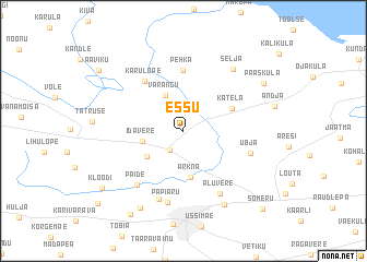map of Essu