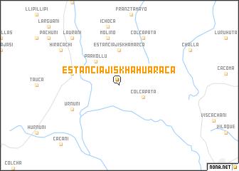 map of Estancia Jiskha Huaraca