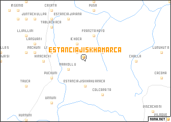 map of Estancia Jiskha Marca