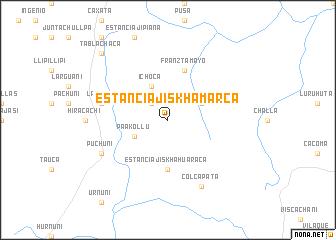 map of Estancia Jiskha Marca