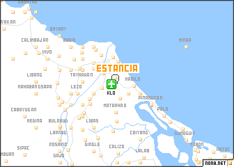 map of Estancia